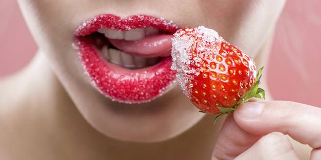 Strawberries boost libido women